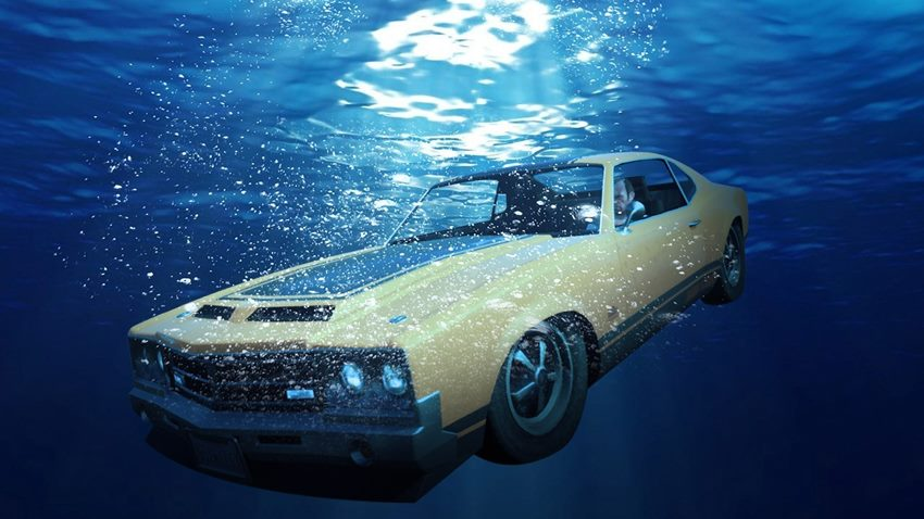 Carro afundado (1)|Carro afundado (2)|Carro afundado