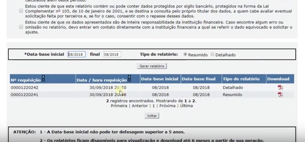 consulta SCR Banco central (2)