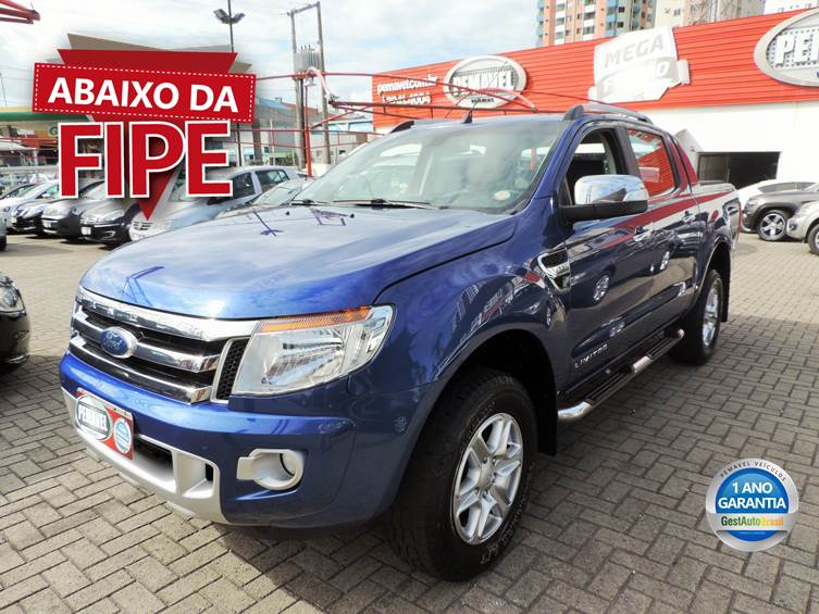 FORD RANGER 3.2 LIMITED 4X4 CD 20V DIESEL 4P AUTOMÁTICO 2015