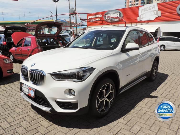 BMW X1 2.0 16V TURBO ACTIVEFLEX SDRIVE20I 4P AUTOMÁTICO 2016