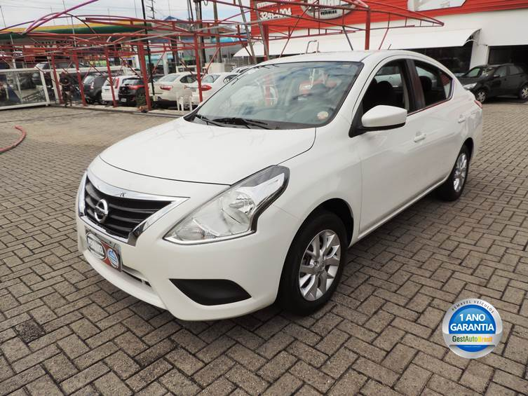NISSAN VERSA 1.6 16V FLEX SL 4P MANUAL 2016