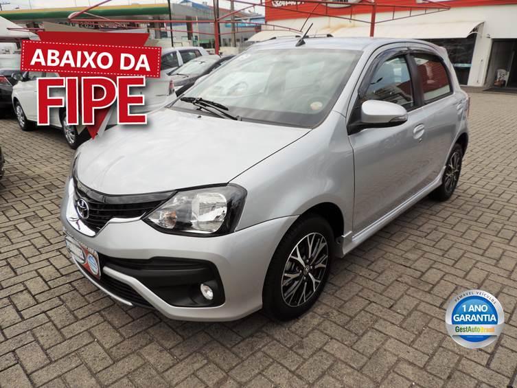 TOYOTA ETIOS 1.5 PLATINUM 16V FLEX 4P AUTOMÁTICO 2019
