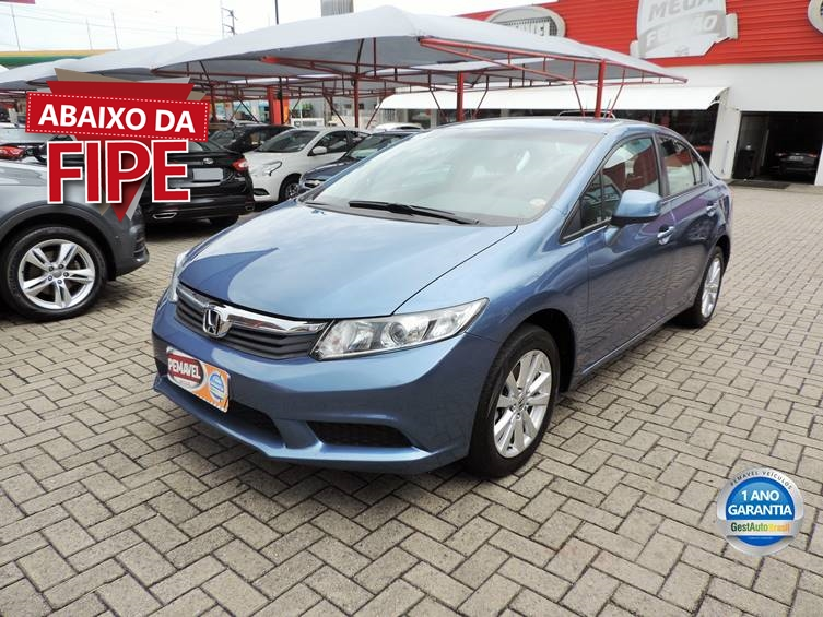 HONDA CIVIC 1.8 LXS 16V FLEX 4P MANUAL 2015