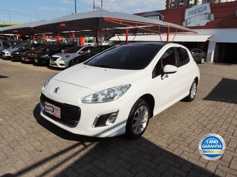 PEUGEOT 308 1.6 ACTIVE 16V FLEX 4P MANUAL 2014
