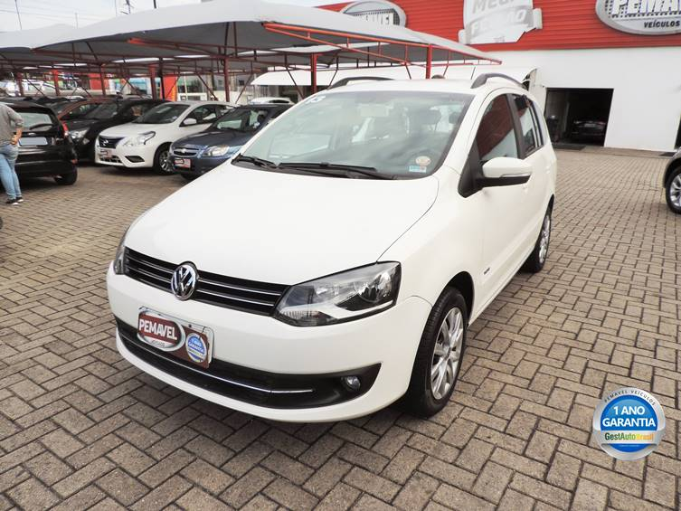 VOLKSWAGEN SPACEFOX 1.6 MI TREND 8V FLEX 4P MANUAL 2013