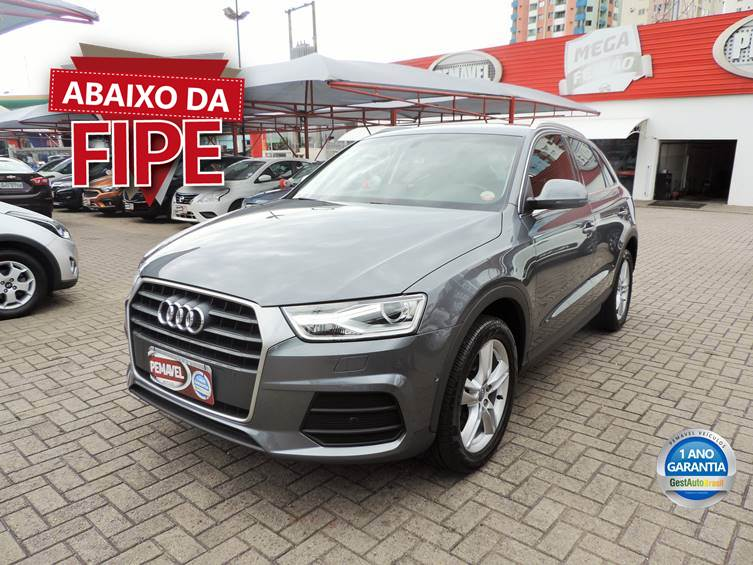 AUDI Q3 1.4 TFSI ATTRACTION FLEX 4P S TRONIC 2018