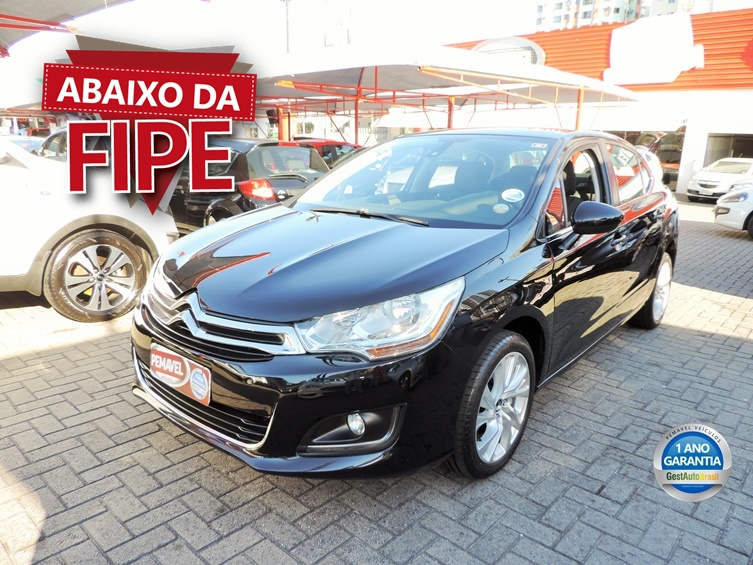 CITROEN C4 LOUNGE 2.0 MPFI TENDANCE 16V FLEX 4P MANUAL 2014