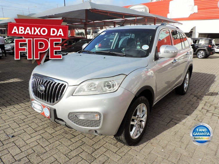 LIFAN X60 1.8 TALENT 16V GASOLINA 4P MANUAL 2016