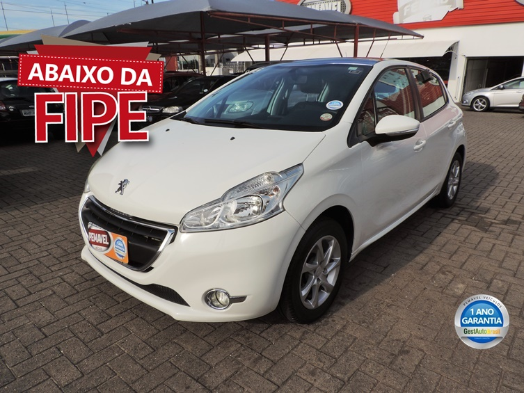 PEUGEOT 208 1.5 ALLURE 8V FLEX 4P MANUAL 2015