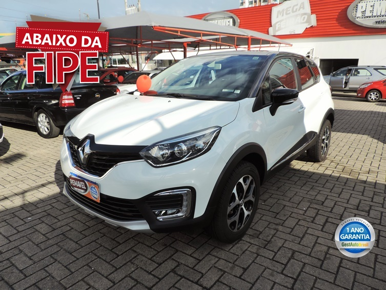 RENAULT CAPTUR 1.6 16V SCE FLEX INTENSE 2018