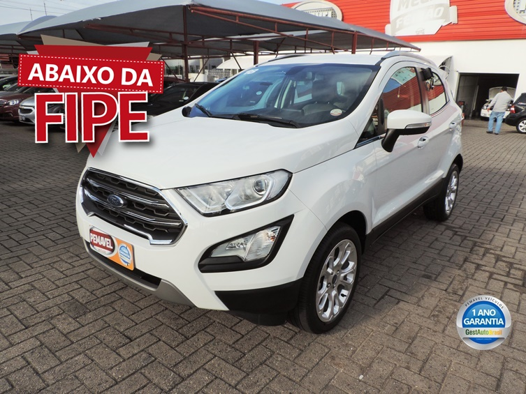FORD ECOSPORT 2.0 DIRECT FLEX TITANIUM AUTOMÁTICO 2018