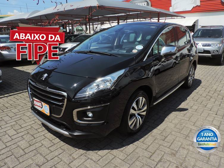 PEUGEOT 3008 1.6 GRIFFE THP 16V GASOLINA 4P AUTOMÁTICO 2015