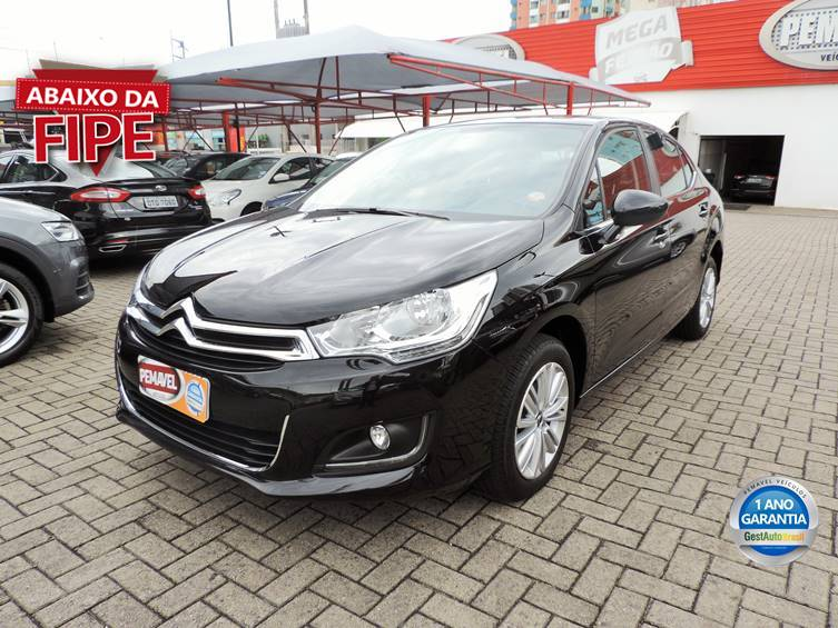 CITROEN C4 LOUNGE 1.6 ORIGINE 16V TURBO FLEX 4P AUTOMÁTICO 2017