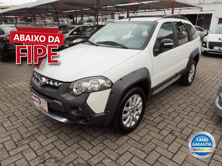 FIAT PALIO 1.8 MPI ADVENTURE WEEKEND 16V FLEX 4P MANUAL 2016