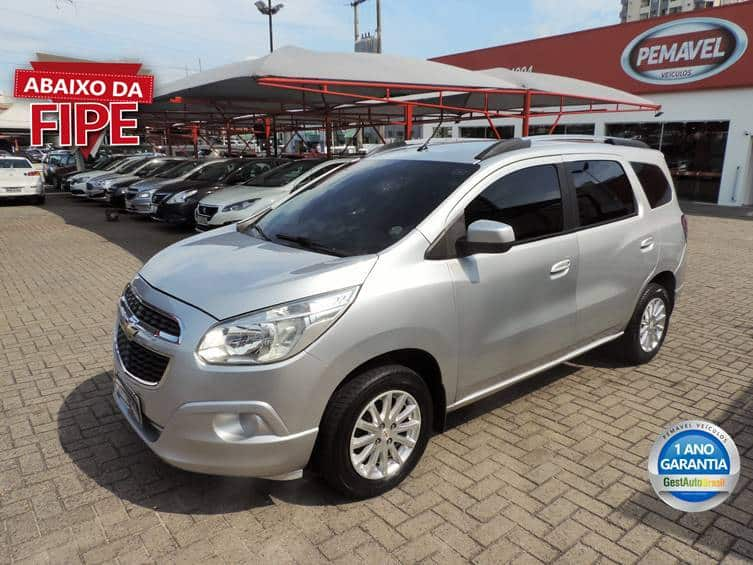 CHEVROLET SPIN LT 1.8 8V FLEX 4P MANUAL 2015