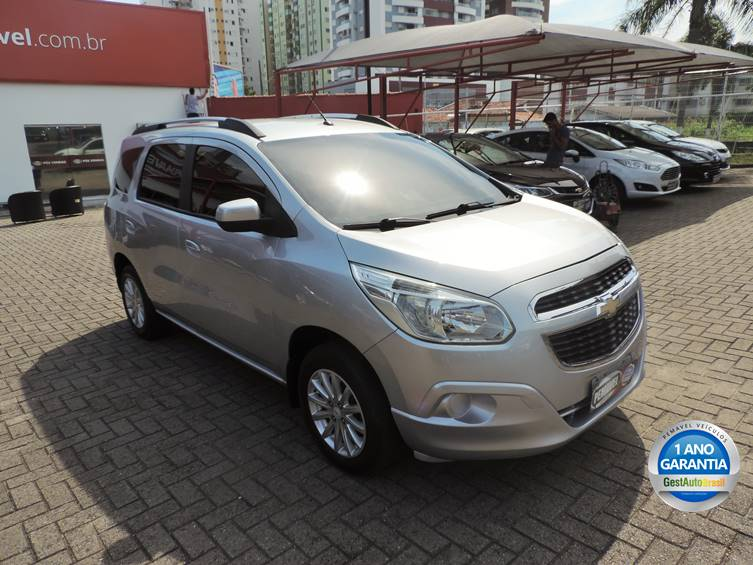 CHEVROLET SPIN 1.8 LT 8V FLEX 4P MANUAL 2015 full