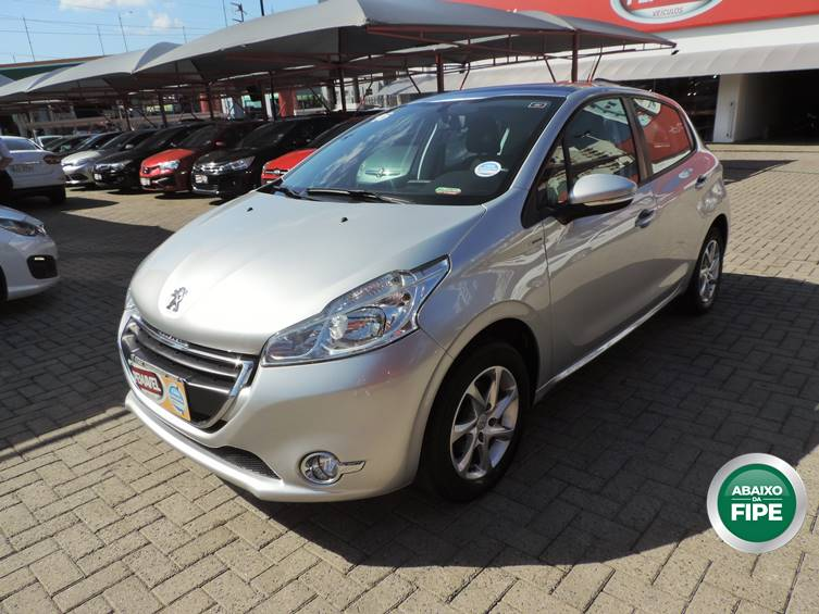 PEUGEOT 208 ALLURE IN CONCERT 1.5 8V FLEX 4P MANUAL 2016