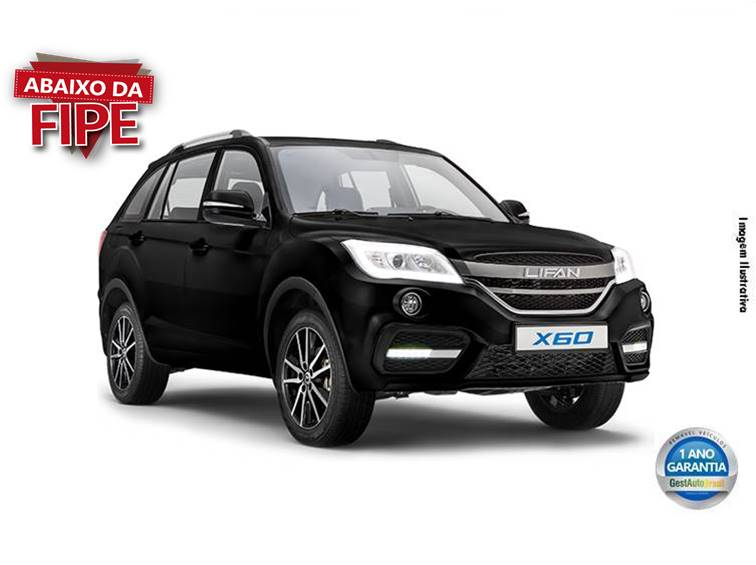 LIFAN X60 TALENT 16V GASOLINA 4P MANUAL 2018