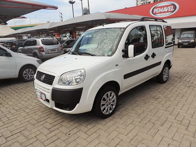 FIAT DOBLÓ ESSENCE 1.8 MPI 16V FLEX 4P MANUAL 2018