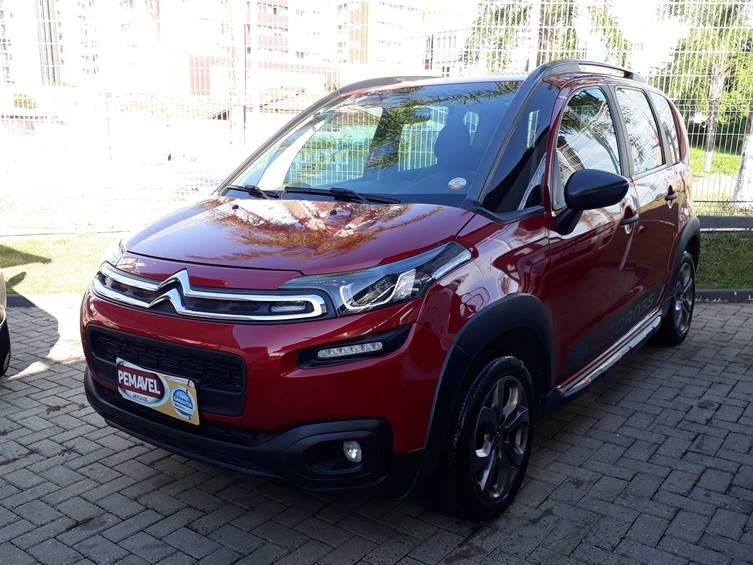 CITROEN AIRCROSS LIVE 1.6 16V FLEX MANUAL 2018