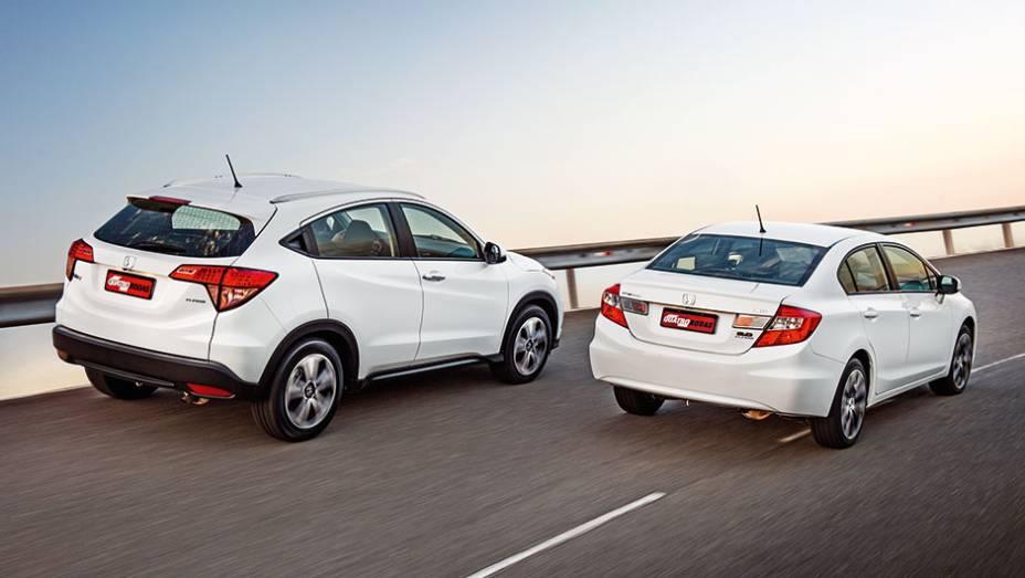 Imagem para ilustrar o texto sobre a diferença entre SUV e Sedan