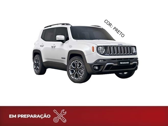 JEEP RENEGADE 1.8 16V FLEX LONGITUDE 4P AUTOMÁTICO 2017